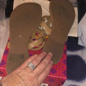 Tory Burch Shoes - Authentic Tory Burch Miller flat sand